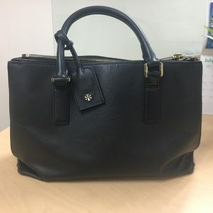 Tory Burch Double Zip Robinson Large Tote